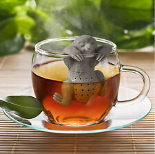 Novelty Sloth Tea Infuser Silicone Leaf Strainer Herbal Spice Filter Diffuser