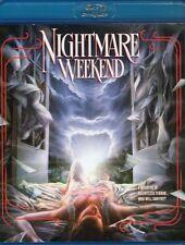 Nightmare Weekend Blu Ray & DVD Vinegar Syndrome Henry Sala 1985 cult uncut