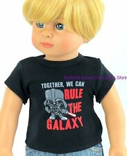 "Rule The Galaxy Space Shirt Doll Clothes Made For 18 15 "" American Girl Boy Doll"