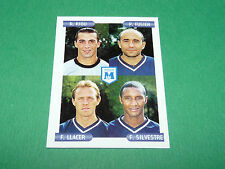 N°396 RIOU FUGIER LLACER MONTPELLIER D2 PANINI FOOTBALL FOOT 2001 2000-2001