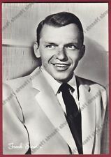 FRANK SINATRA 02b ATTORE ACTOR CINEMA MOVIE STAR CANTANTE SINGER Cartolina FOTOG