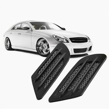 Car Side Air Flow Vent Hole Cover Fender Intake Grille Decoration Sticker #A