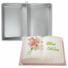 Book or Bible Large Cake Pan 2 Mix from Wilton #2521 - NEW