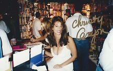 RARE: Christy Canyon SEXY ADULT FILM PORNSTAR Signed Autographed PERSONAL Photo