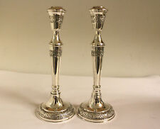 CANDLE STICKS STERLING SILVER EXCELLENT CONDITION!