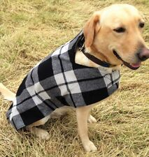 BRAND NEW HAND MADE TWEED DOG COAT LARGE LABRADOR SPANIEL COUNTRY JACKET TARTAN