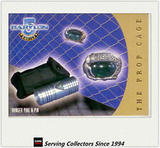 Babylon 5 Profile Trading Card THE PROP CAGE Subset PC7 Ranger Pike And Pin