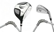 Medicus training Golf clubs--Dual Hinged 460cc Driver+ 5 Iron (Men's Right Hand)