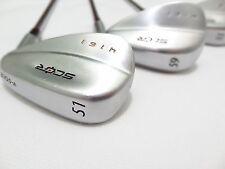 Scor 4161 V-Sole Wedge Set, 51*, 55*, 59* Firm Flex Steel Shafts
