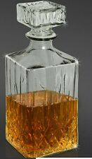 Glass Decanter With Stopper 900ml Whisky Sherry Wine Decanter Carafe