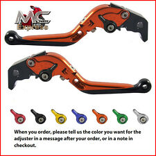 Folding Extendable Adjustable Levers Buell XB12R XB12Ss XB12Scg 2009 Orange
