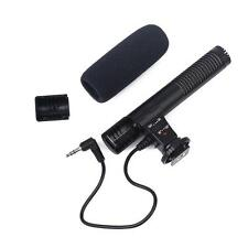Digital Video Professional Studio / Stereo Recording 3.5mm Camera Microphone