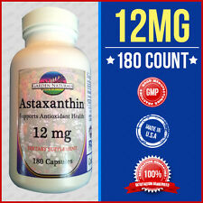 Astaxanthin Powerful Antioxidant Support 12mg Per Serving Size USA/FDA Facility