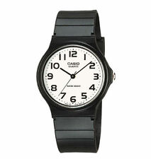 Casio Men's Black Resin Watch, Analog, Water Resistant, MQ24-7B2