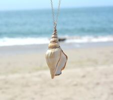 Ocean winds Chain Necklace conch Shell Pendant necklace For Women Gift N167