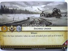 A Game of Thrones 2.0 LCG - 1x Snowed Under  #048 - Wolves of the North