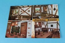 AK Gasthaus Rössle in ROTTENBURG-DETTINGEN - div. Ansichten - ungelaufen (100)