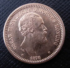 Sweden 1874 ST Gold 10 Kronor UNC