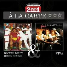 "A LA CARTE ""DO WAH DIDDY.../VIVA"" 2 CD NEW+"
