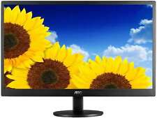 """AOC  E970SWN  Black with Hairline Texture  18.5""""  5ms  Widescreen LED Backlight"""