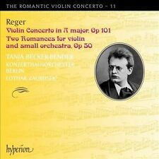 Reger: Violin Concerto, Op. 101; Two Romances, Op. 50 (CD, Jan-2012, Hyperion)