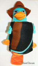 DISNEY Phineas Ferb Perry Agent P Platypus PLUSH HUGGER PILLOW & THROW BLANKET