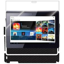 ArmorSuit MilitaryShield Sony Tablet S Screen Protector + Black Carbon Fiber