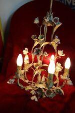 Deckenlampe Kronleuchter floral florentiner Blüten 50/60er Jahre Chabby Chic