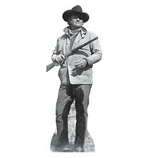 JOHN WAYNE The Duke 1969 TRUE GRIT Lifesize CARDBOARD CUTOUT Standup Standee F/S