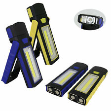 Hot COB LED Magnetic Work Stand Hanging Hook Light Flashlight Rechargeable F7