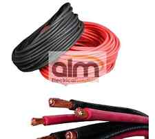 BLACK 110AMP 16MM BATTERY CABLE HI FLEX 1MTR LENGTH BOAT KIT CAR