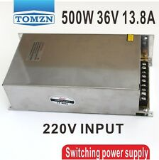 500W 36V 13.8A 220V INPUT Single Output Switching power supply