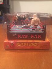 WWF Raw is War In The Ring Stone Cold vs Undertaker Video Game NIB MGA Sports