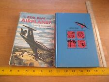 The Real Book about Flying Airplanes 1952 HBDJ book Arch Whitehouse