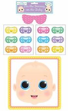 PIN Il Manichino-BABY SHOWER Gioco Soother parte 12 Giocatori Unisex Boy Girl