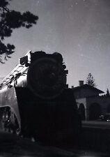 SP Southern Pacific Daylight Locomotive - Vintage Railroad Negative