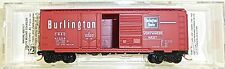 Chicago Burlington 40 Standard Box Car Micro Trains 022 00 130 N 1:160 OVP HF3 å