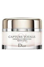 DIOR CAPTURE TOTALE MULTI-PERFECTION CREME FACE & NECK 2.1 OZ  SEALED EXP01 /18