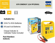 GYS Energy 124 Manuale Caricabatterie 12V