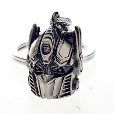 Transformers Autobots Optimus Prime Mask Replica Metal 3D KeyRing Keychain