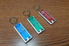 Lot of 100 Pieces - Misprint Translucent Keychains with Super Bright LED Light