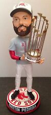 Dustin Pedroia Boston Red Sox 2013 World Series Champions Trophy /300 Bobblehead