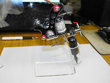 QUALITY CLEAR ACRYLIC TATTOO MACHINE / GUN HOLDER/ STAND/ REST