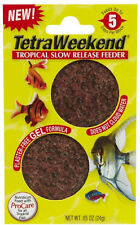 TETRA VACATION FEEDER 5 DAY 2PK FISH FOOD SLOW RELEASE FREE SHIPPING IN THE USA