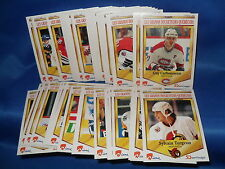 1992-93 PANINI HOCKEY - DURIVAGE COMPLETE SET (50) NHL CARDS ! LQQK !