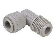 "Quick Connect Fittings (5) 1/8""MPTx1/4""qc John Guest Style Elbow NSF Certified"