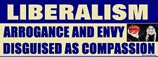 Conservative GOP Anti Obama Anti Liberalism Political Bumper Sticker