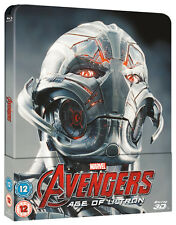 Avengers Age of Ulton Lmtd. Edition Lenticular Blu-ray 2D/3D Steelbook PRE-ORDER