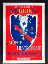 AFFICHE - Moulins sur Allier - Bourbonnais