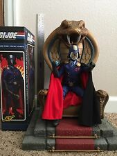 Sideshow COBRA Throne and Commander (Dictator) GI Joe Sixth Scale